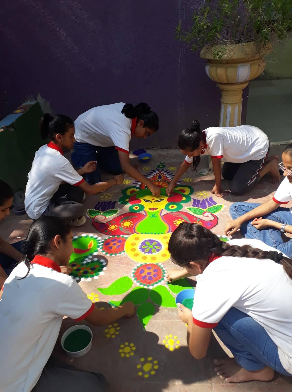 joyous festival of Diwali